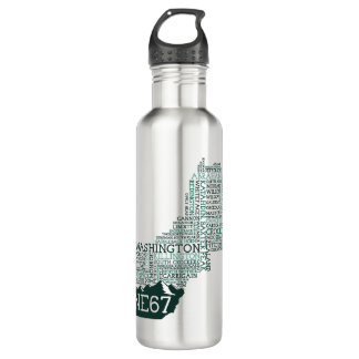 New England 67 Stainless Steel Water Bottle 24oz Water Bottle