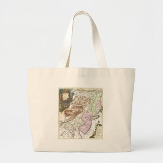 New England Ancient Map (1756).3989x4625.png Tote Bags