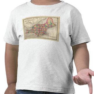 New England and New York 2 Tee Shirt