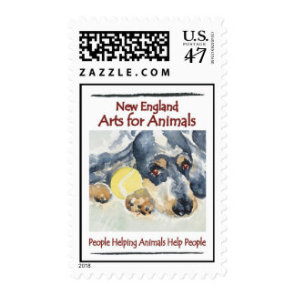 New England Arts For Animals Postage Stamps