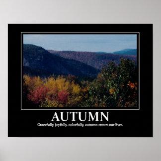 New England Autumn inspiration / motivation Posters
