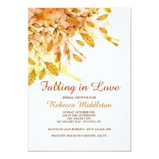 New England Autumn Invitation