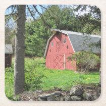 New England Barn Party Coaster