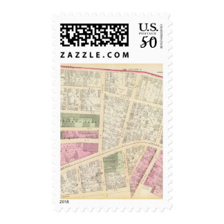 New England Butt Company and American Butt Co map Postage