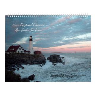 New England Classics Calendar Huge size