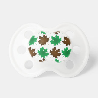 New England East Coast Autumn Leaves Baby Pacifier