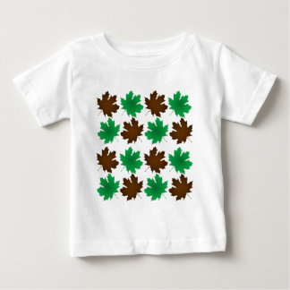 New England East Coast Autumn Leaves Baby T-Shirt