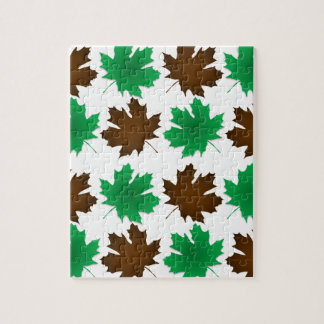New England East Coast Autumn Leaves Puzzles