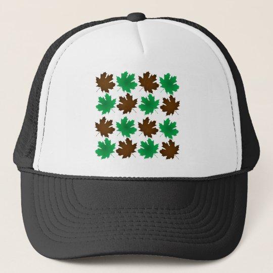 New England East Coast Autumn Leaves Trucker Hat