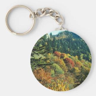 New England Fall Foliage Keychain