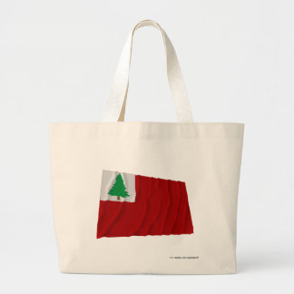 New England Flag Canvas Bags