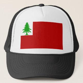 New England Flag Trucker Hat