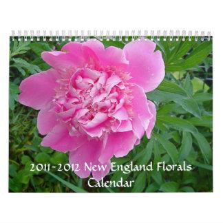 New England floral photos 2011-2012 calendar