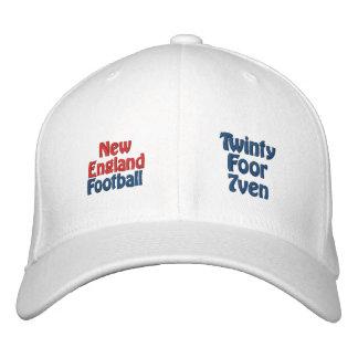 New England Football Embroidered Baseball Caps