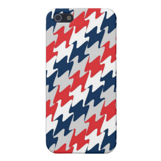 New England Football Red White Navy iPhone 5 Case