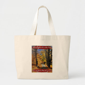 New England in Fall - Gods Masterpiece Large Tote Bag
