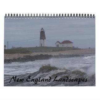 New England Landscapes Wall Calendar