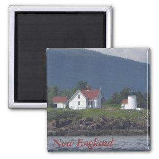 New England Lighthouse Magnet
