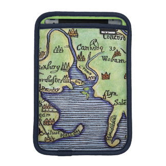 NEW ENGLAND MAP 1677 SLEEVE FOR iPad MINI
