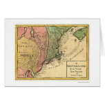 New England Map 1759 Card