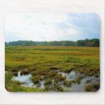 New England Marsh Scene Mousepad