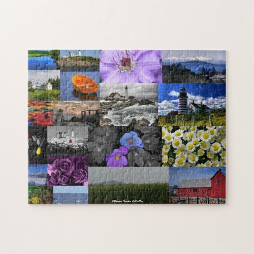 New England Mix Puzzle puzzle