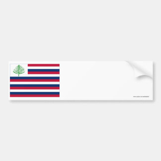 New England Naval Ensign Bumper Sticker