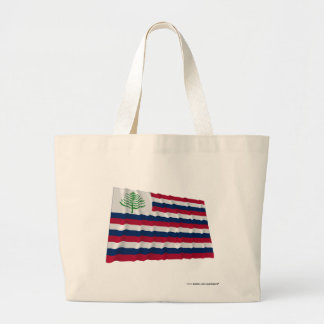 New England Naval Ensign Large Tote Bag