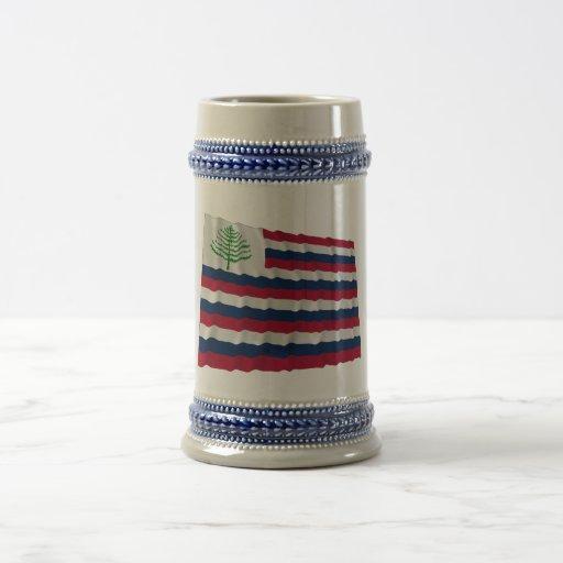New England Naval Ensign Mug