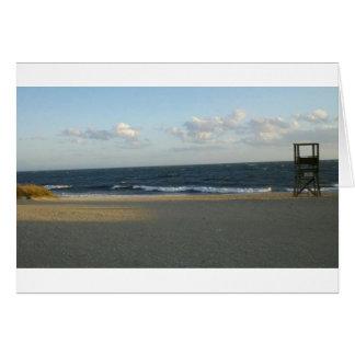 New England Ocean View Card