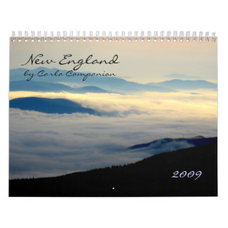 New England photography calendar