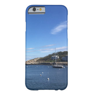 New England Seaport With Boat Barely There iPhone 6 Case