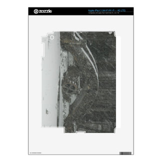 New England Snowy Bridge Decals For iPad 3