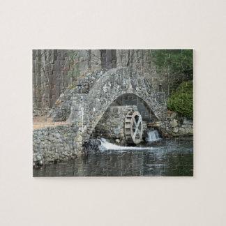 New England Stone Bridge Jigsaw Puzzle