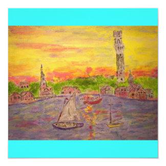 new england sunset card