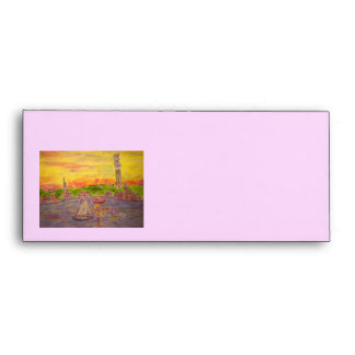 new england sunset envelope