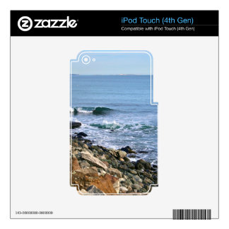 New England Surf Skins For iPod Touch 4G