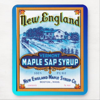 New England Vermont Maple Syrup Mouse Pad