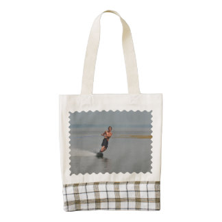 New England Wakeboarder Zazzle HEART Tote Bag