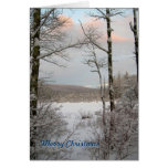 New England Winter Christmas Cards