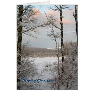 New England Winter Christmas Cards