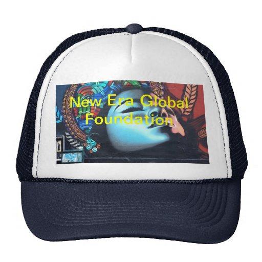 new Era Global Foundation Trucker Hat
