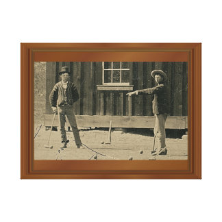 New Evidence Billy The Kid Canvas Print
