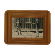 New Evidence Billy The Kid Photo Magnet