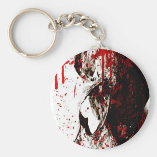 -[NEW EVILS]- A Bloody End Basic Round Button Keychain
