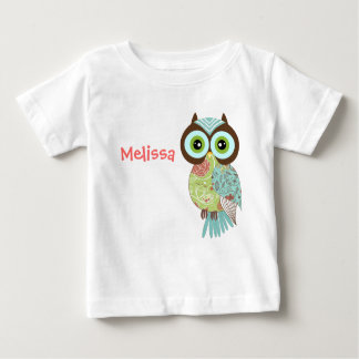 New Fancy Funky Owl Infant T Shirts