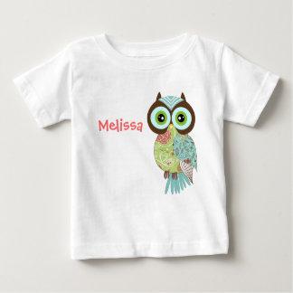New Fancy Funky Owl Infant T Shirts