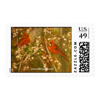 New Father and Son Postage Stamp