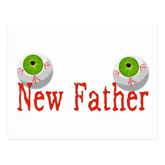New Father Postcard