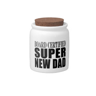 New Fathers Baby Showers Super New Dad Candy Dish